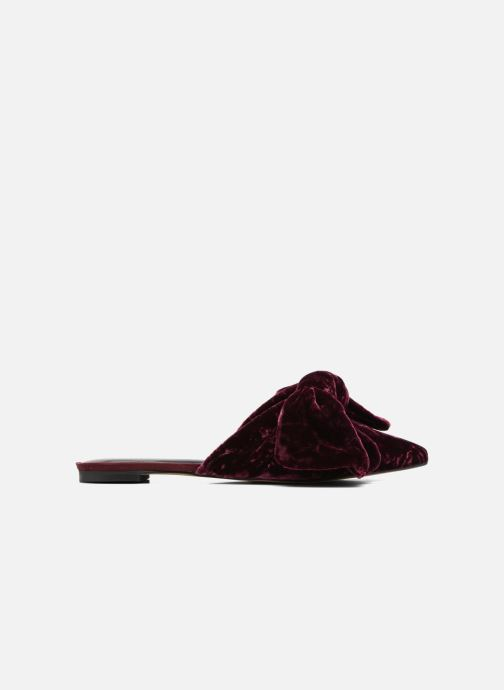 Mules & clogs Rebecca Minkoff Alexis Burgundy back view