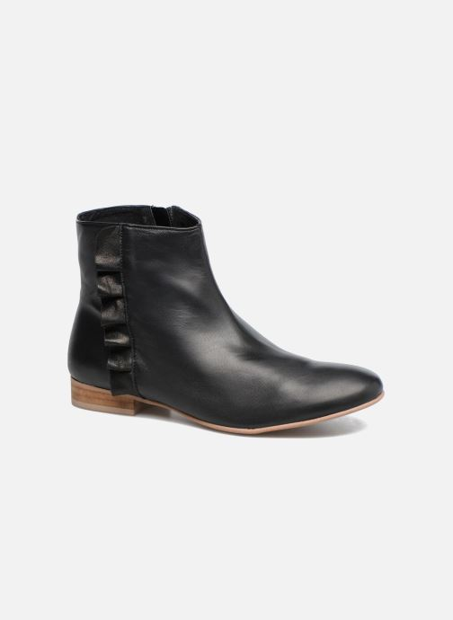 Boots en enkellaarsjes Georgia Rose Hersi Zwart detail