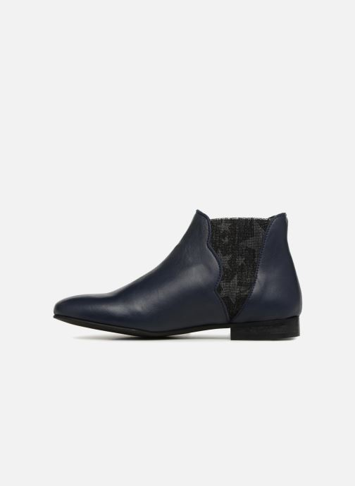 Bottines et boots Georgia Rose hermione Bleu vue face