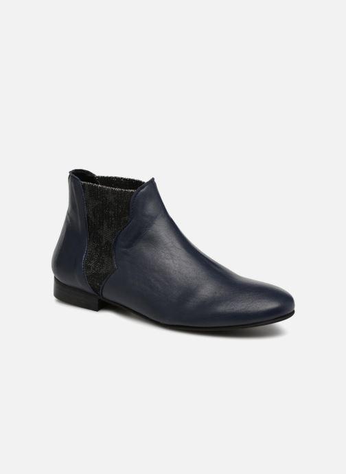 Bottines et boots Georgia Rose hermione Bleu vue détail/paire