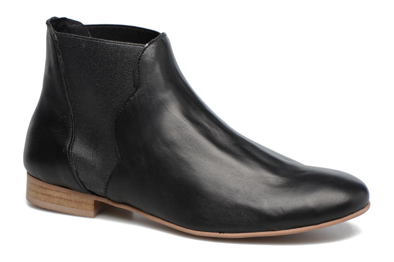 Bottines et boots Georgia Rose hermione Noir vue détail/paire