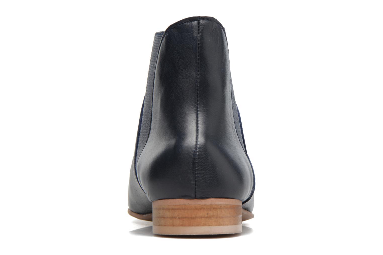 Bottines et boots Georgia Rose hermione Bleu vue droite