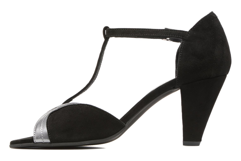 High heels Georgia Rose Hepomi Black front view