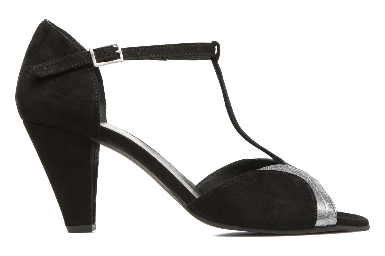 High heels Georgia Rose Hepomi Black back view