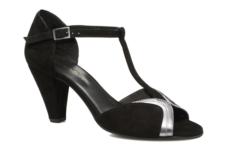 High heels Georgia Rose Hepomi Black detailed view/ Pair view