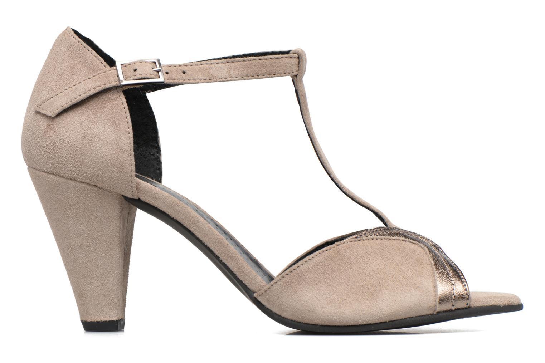 High heels Georgia Rose Hepomi Grey back view