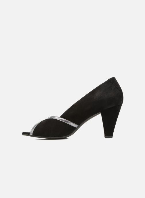 Zapatos de tacón Georgia Rose Hesolea Negro vista de frente