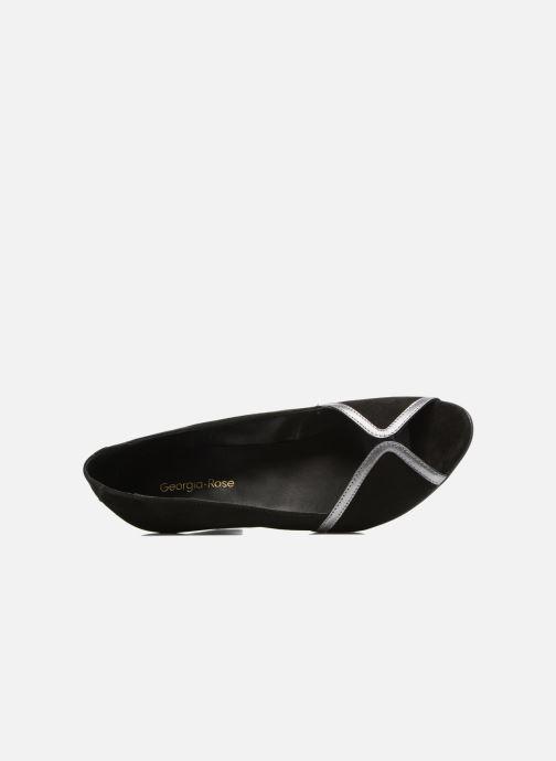 Zapatos de tacón Georgia Rose Hesolea Negro vista lateral izquierda