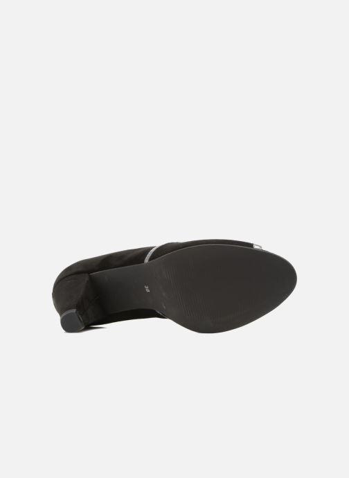 Zapatos de tacón Georgia Rose Hesolea Negro vista de arriba