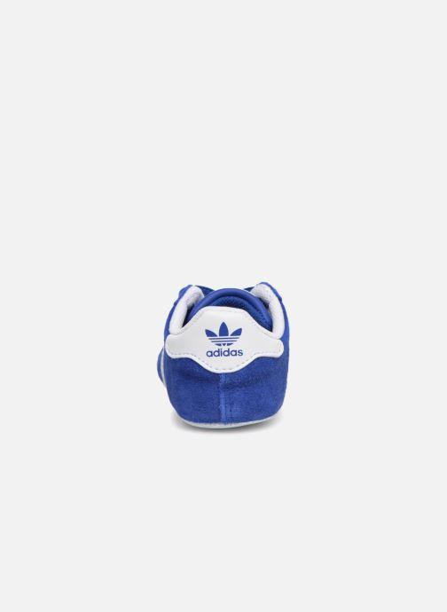 Sneakers adidas originals Gazelle Crib Blauw rechts