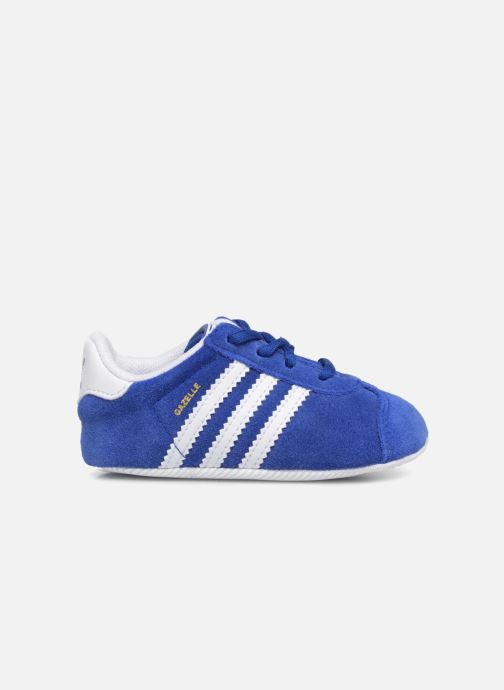 Baskets adidas originals Gazelle Crib Bleu vue derrière