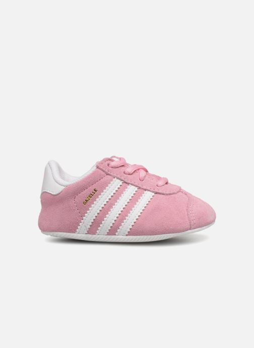 Trainers adidas originals Gazelle Crib Pink back view