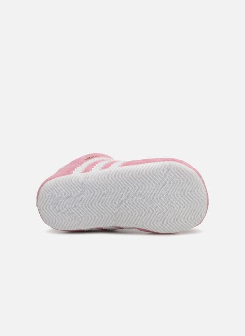 Sneaker adidas originals Gazelle Crib rosa ansicht von oben