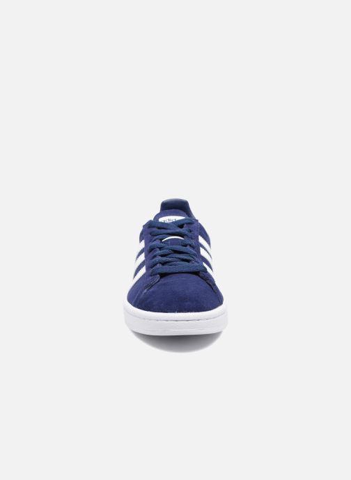 Baskets Adidas Originals Campus J Bleu vue portées chaussures