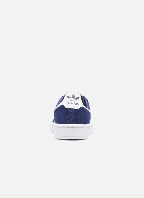 Baskets Adidas Originals Campus J Bleu vue droite