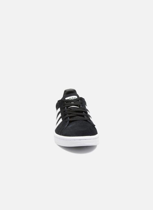 Baskets Adidas Originals Campus J Noir vue portées chaussures