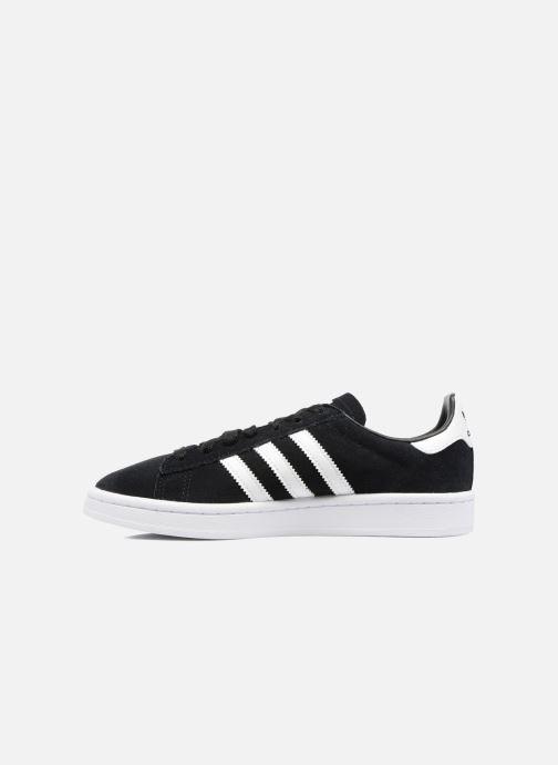 Sneakers adidas originals Campus J Zwart voorkant