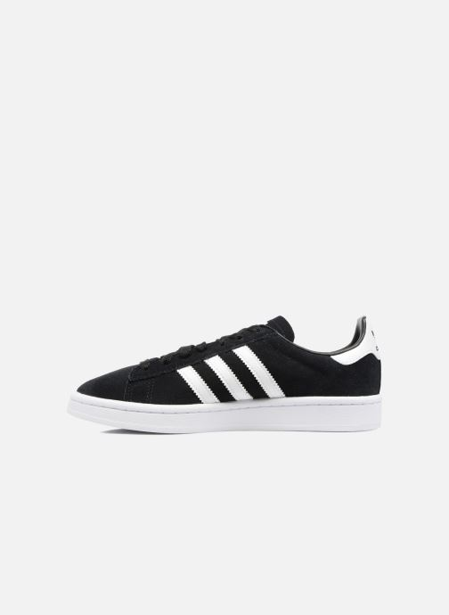 Baskets Adidas Originals Campus J Noir vue face