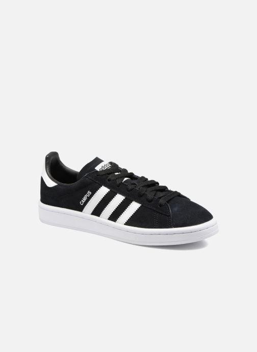 Sneakers adidas originals Campus J Zwart detail