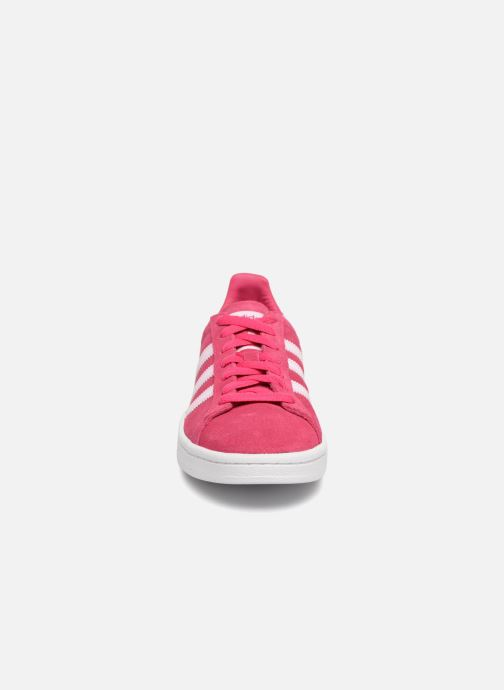 Trainers adidas originals Campus J Pink model view
