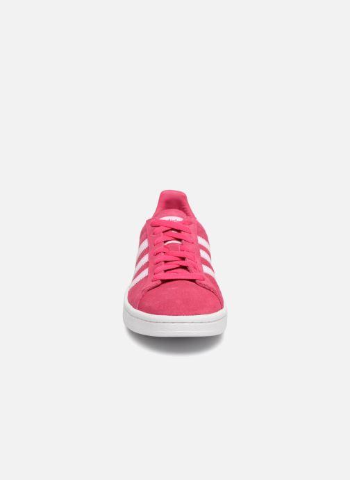 Trainers Adidas Originals Campus J Pink model view