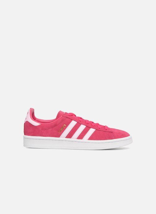 Trainers Adidas Originals Campus J Pink back view