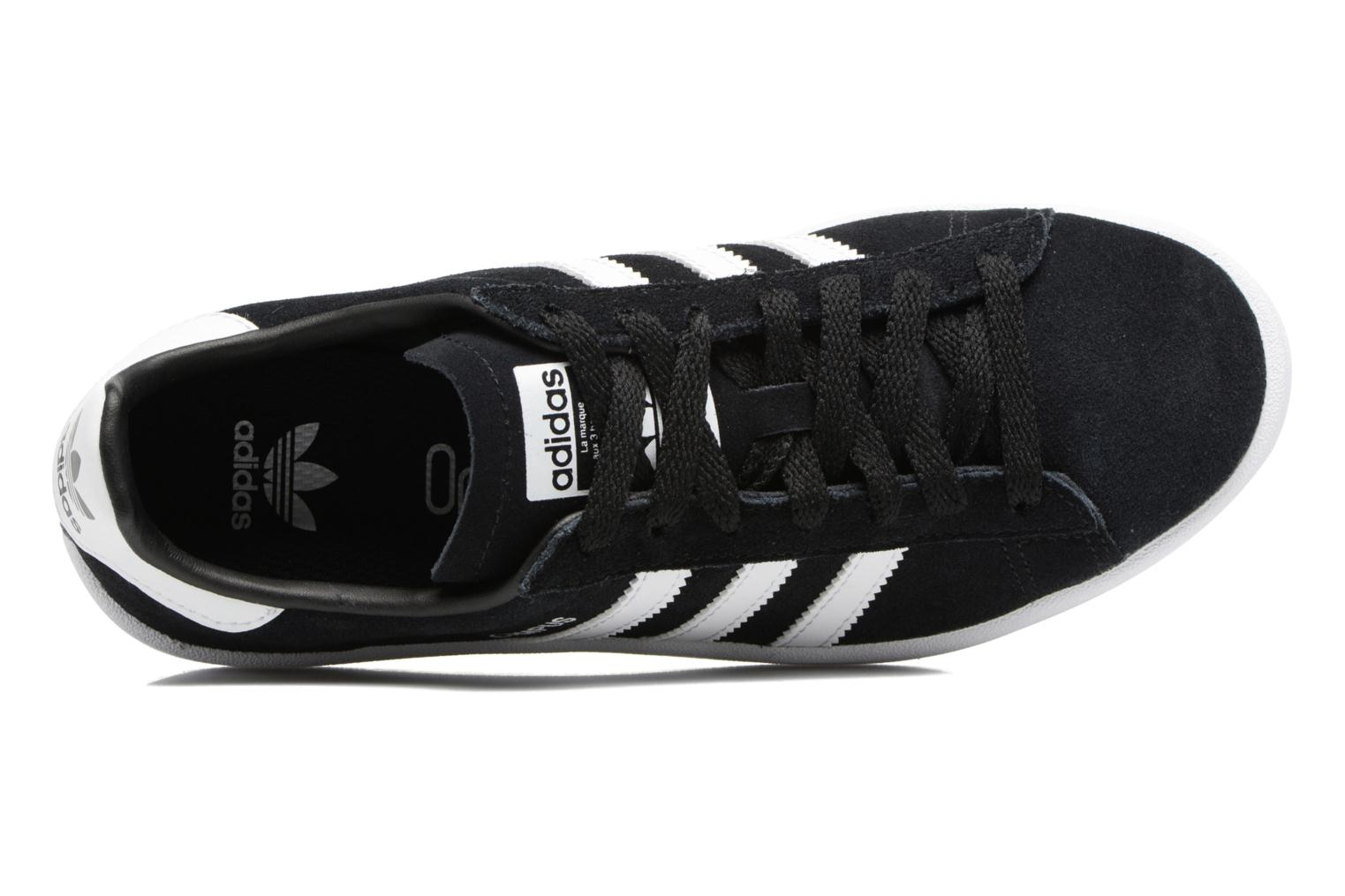 Sneakers Adidas Originals Campus J Sort se fra venstre