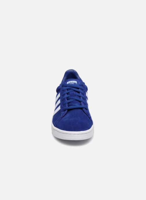 Baskets adidas originals Campus C Bleu vue portées chaussures