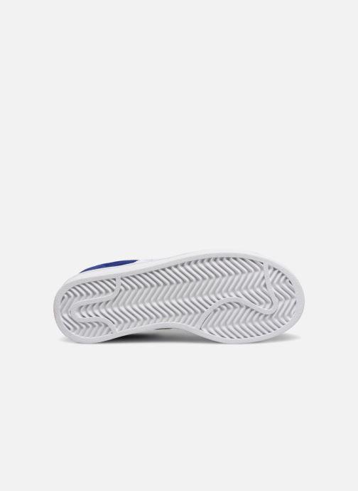 Baskets Adidas Originals Campus C Bleu vue haut