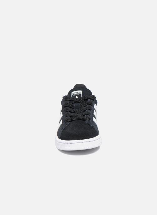 Baskets adidas originals Campus El I Noir vue portées chaussures