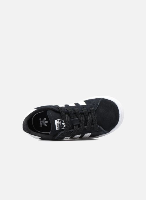 Baskets adidas originals Campus El I Noir vue gauche