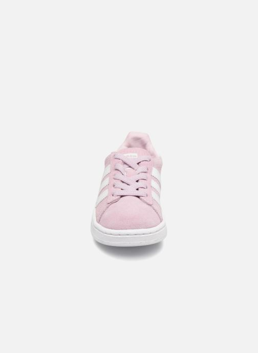 Trainers Adidas Originals Campus El I Pink model view
