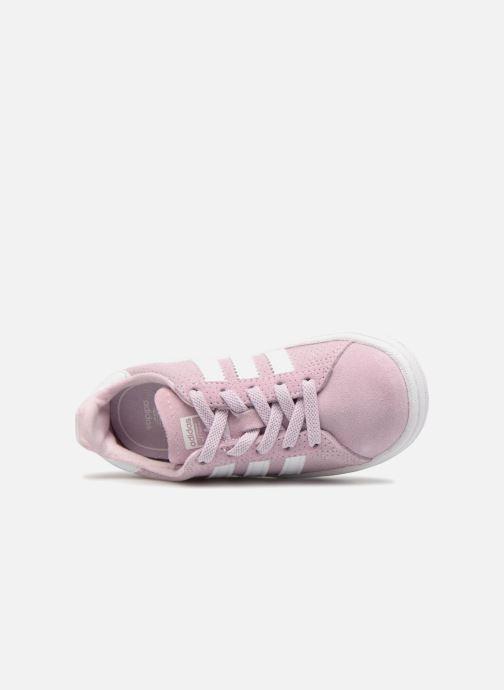 Sneakers adidas originals Campus El I Rosa bild från vänster sidan