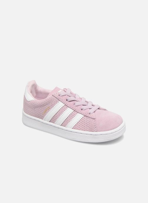 Trainers adidas originals Campus El I Pink detailed view/ Pair view