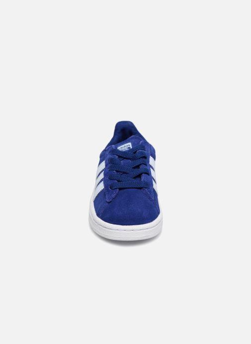 Baskets Adidas Originals Campus El I Bleu vue portées chaussures