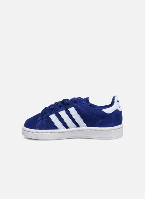 Baskets adidas originals Campus El I Bleu vue face
