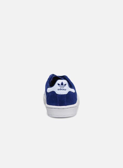 Baskets Adidas Originals Campus El I Bleu vue droite