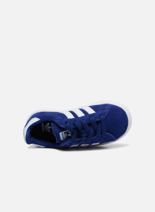 Baskets adidas originals Campus El I Bleu vue gauche