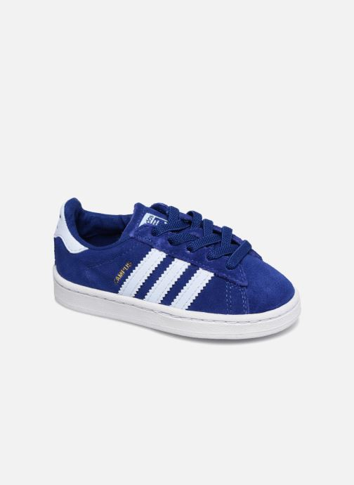Baskets adidas originals Campus El I Bleu vue détail/paire