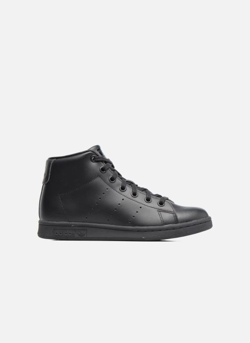 Baskets adidas originals Stan Smith Mid J Noir vue derrière