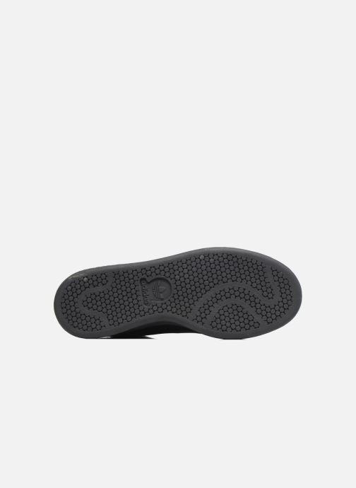 Baskets adidas originals Stan Smith Mid J Noir vue haut