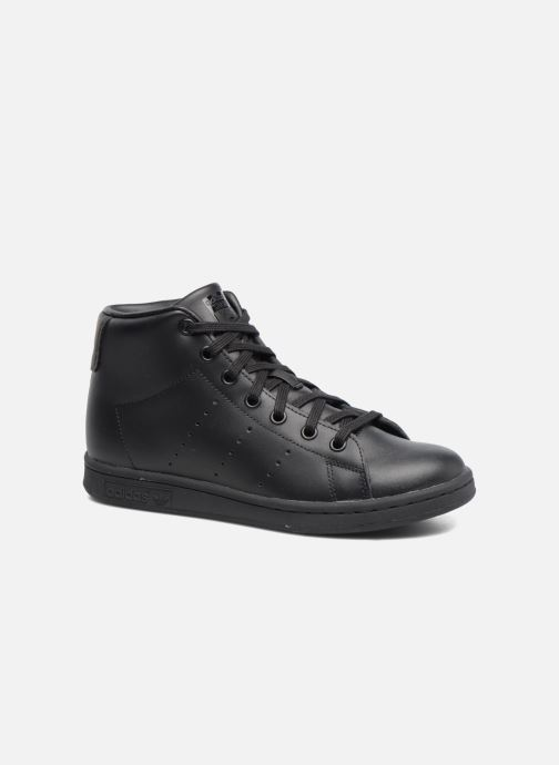 Sneakers adidas originals Stan Smith Mid J Zwart detail