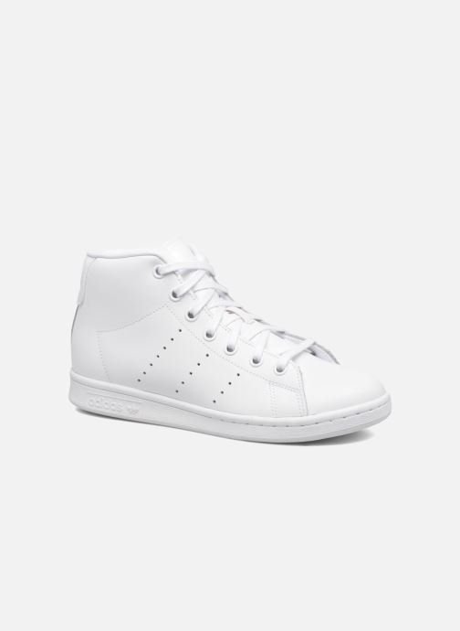 sports shoes d2f5b cca17 Sneakers adidas originals Stan Smith Mid J Bianco vedi dettaglio paio