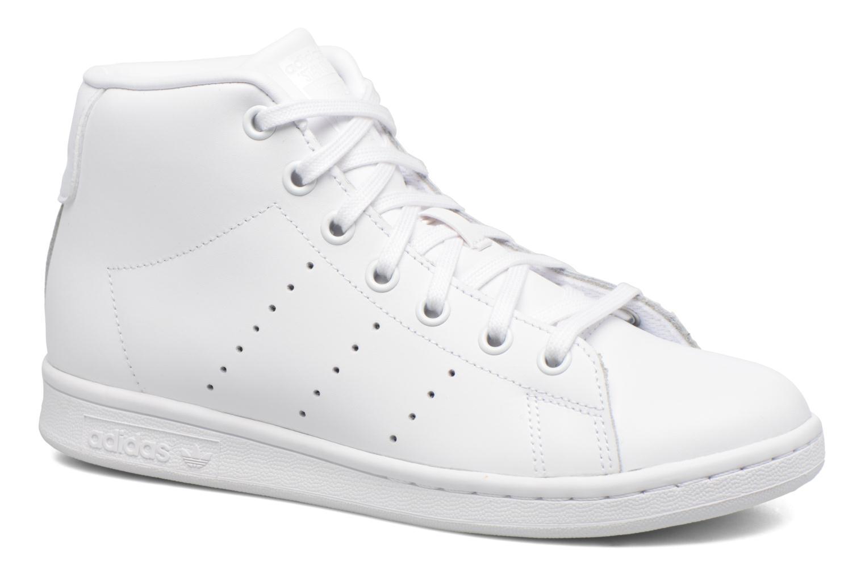 new style 8d188 5511c Baskets Adidas Originals Stan Smith Mid J Blanc vue détailpaire