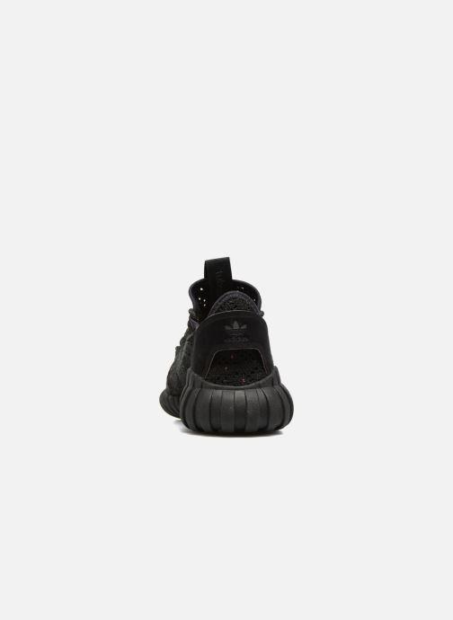 Trainers adidas originals Tubular Doom Sock Pk J Black view from the right