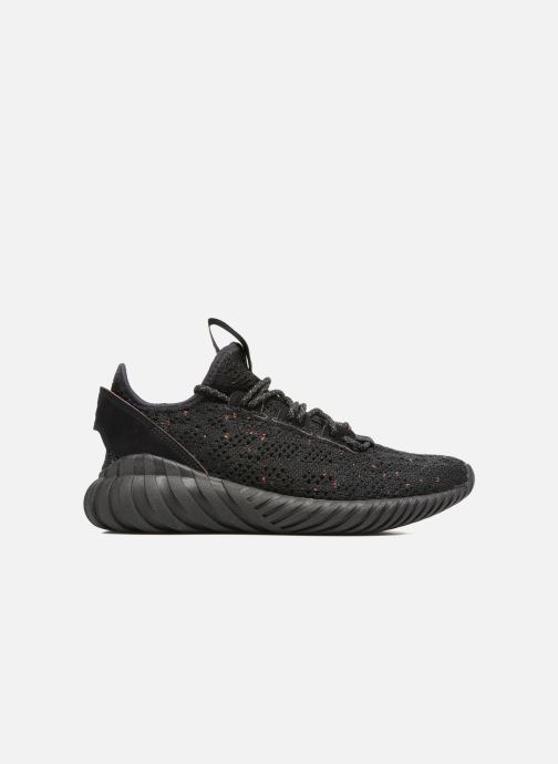 Trainers Adidas Originals Tubular Doom Sock Pk J Black back view