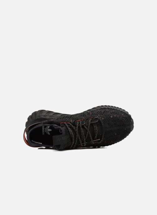 Trainers adidas originals Tubular Doom Sock Pk J Black view from the left