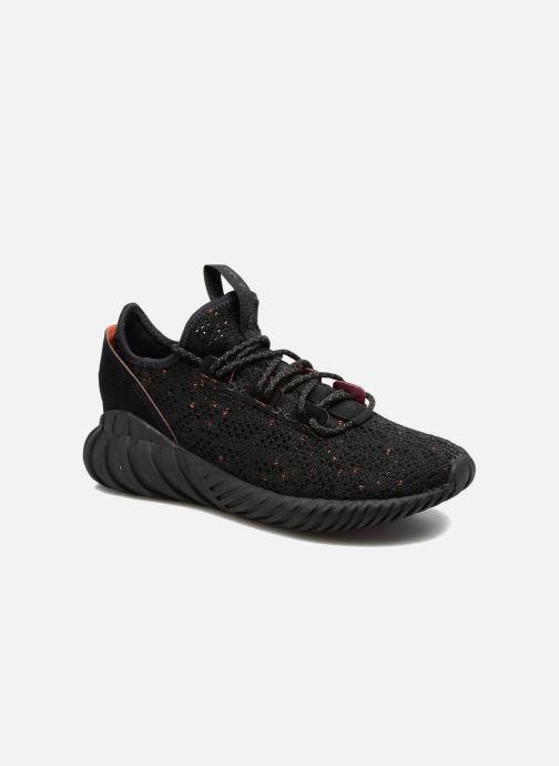Sneakers adidas originals Tubular Doom Sock Pk J Svart detaljerad bild på paret