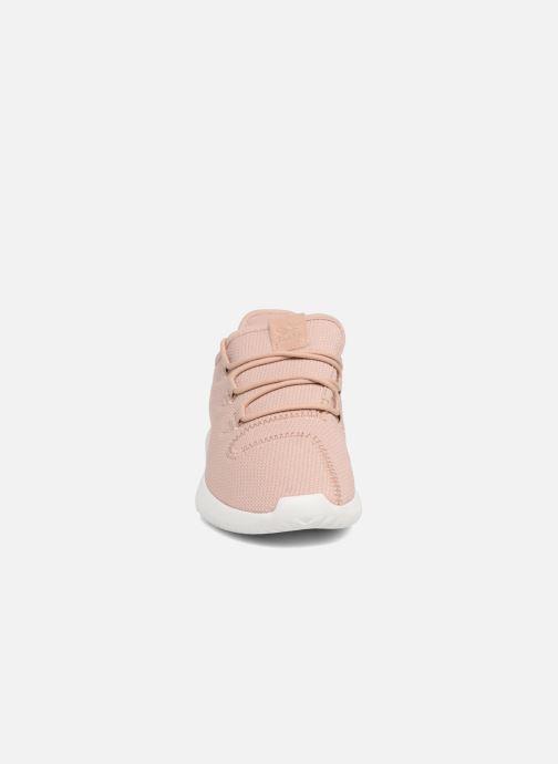 Baskets adidas originals Tubular Shadow C Bordeaux vue portées chaussures