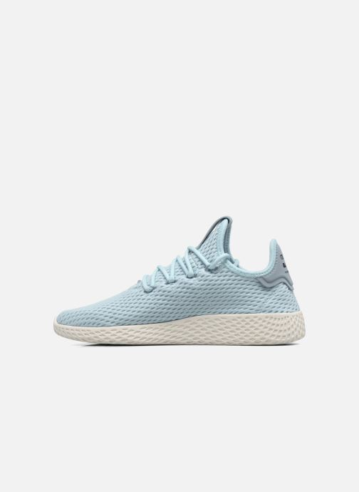 Sneakers adidas originals Pharrell Williams Tennis Hu J Blauw voorkant